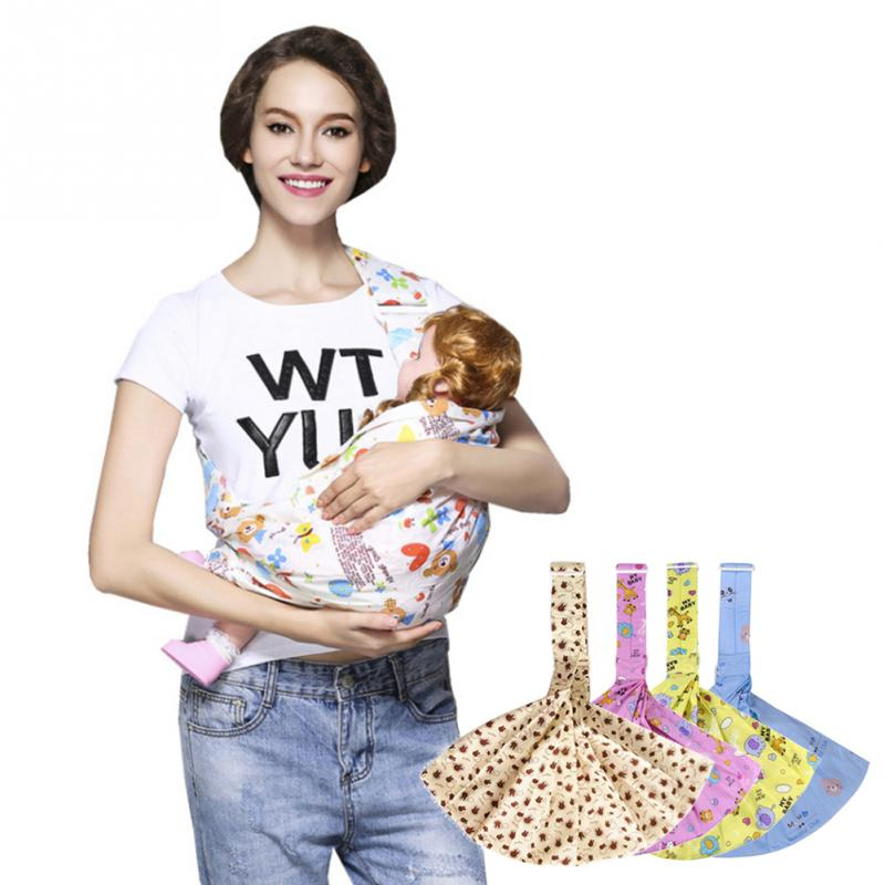 3 In 1 15kg 0-36M Safety Carrier Infant Wrap Soft Horizontal Carry Baby Sling