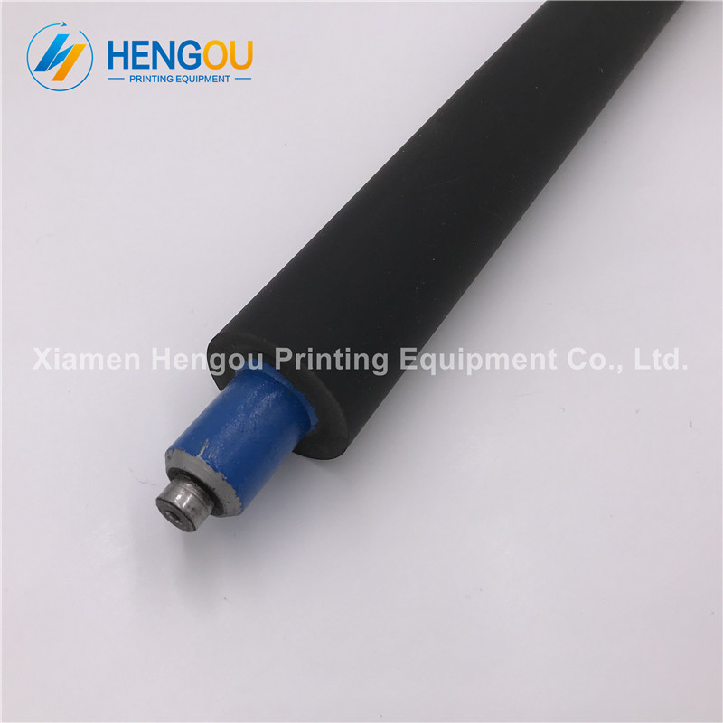 1 pcs heidelberg gto46 BLUE rubber rollers, ink roller for heidelberg printing machinery parts offset printer heidelberg printing machines spare parts ink fountain end plates