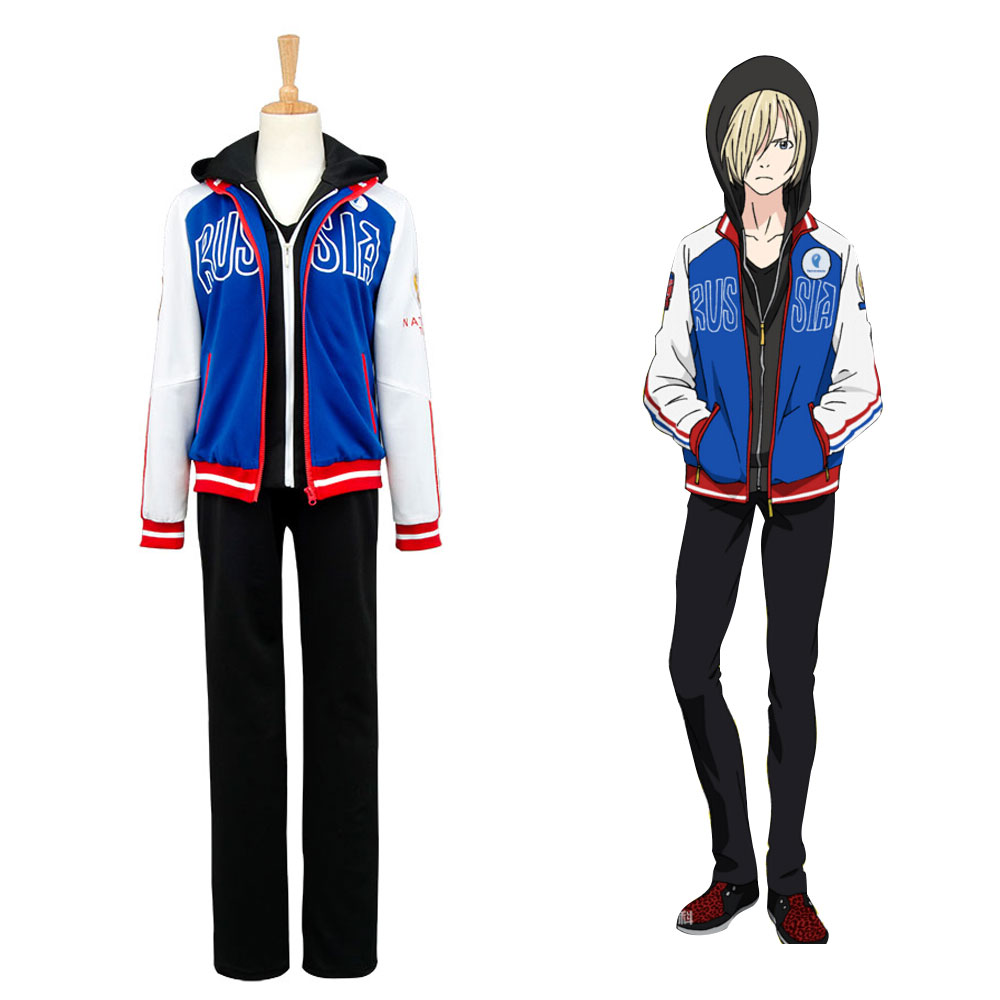 Yuri Plisetsky Costume Yuri on Ice Cosplay Yuri Plisetsky Uniform Cosplay Costume Halloween Party Lowest Price End Of Year