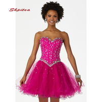 Luxury Short Homecoming Dresses Cute Party Cocktail Prom Modest 8th Grade Graduation Formal Dresses