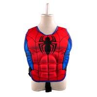 Enfants vie veste gilet spiderman superman batman garçons filles enfants super hero de natation de pêche gilet de sauvetage de sécurité cercle piscine