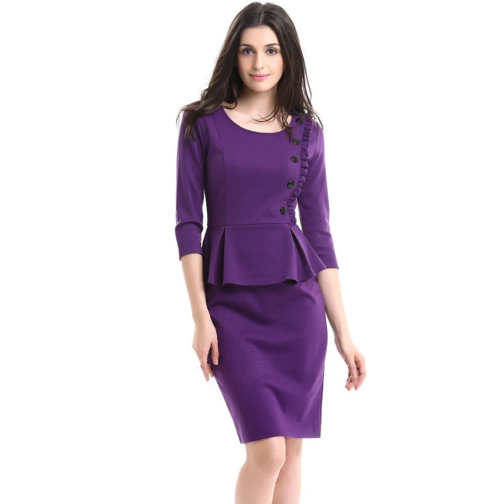 Compra vestido dobladillo de la colmena roja online al por mayor de ...