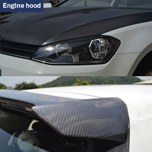30*100CM Car Stickers 5D Carbon Fiber Film Inner Decor Anti Scratch Car Cover Car Accessories For Volkswagen Audi