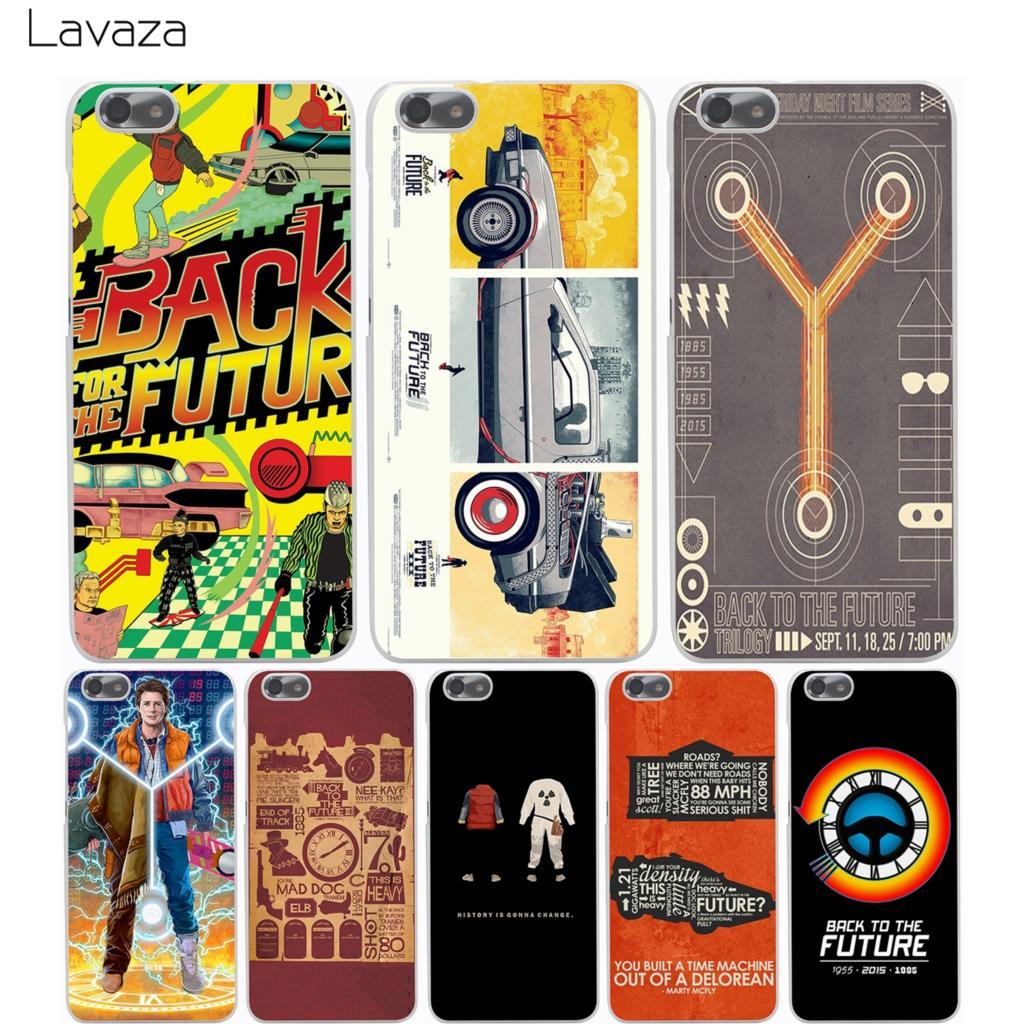 Lavaza Back To The Future Case for Huawei Honor 6a 7x 8 9 10 P8 P9 P10 P20 P Smart Mate 10 Lite Pro Mini 2017