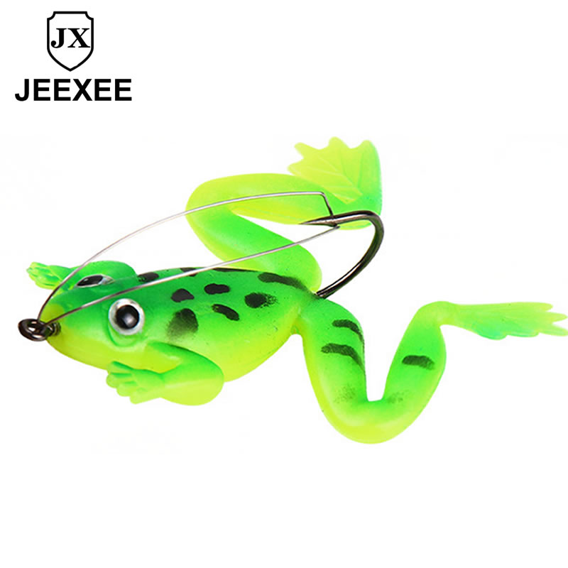 6CM 5.2g 3D Frog Snakehead Fishing Lure Wobblers Pencil Fishing Minnow Soft Worm Fish Lures Artificial Bait Bass Hooks Tackle high quality frog fishing lures 5g 10g 15g 16g multi colors snakehead lure topwater soft bass bait frog lure fishing tackle