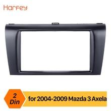 Harfey Car font b Radio b font Fascia Panel For Mazda 3 Axela 2DIN Trim Installation