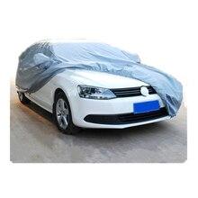 Автотентами Размер S/M/L/XL Водонепроницаемые Полный Автомобиль Покрытие Вс УФ Снежной Пыли Дождь Устойчив защита Серый бесплатная доставка