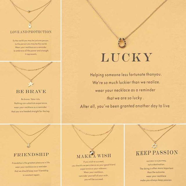 2017 Unique Design Alloy Metal Animal Pendant Gold Thin Chain Choker Necklace Jewelry For Women As Gift Life Is Magical