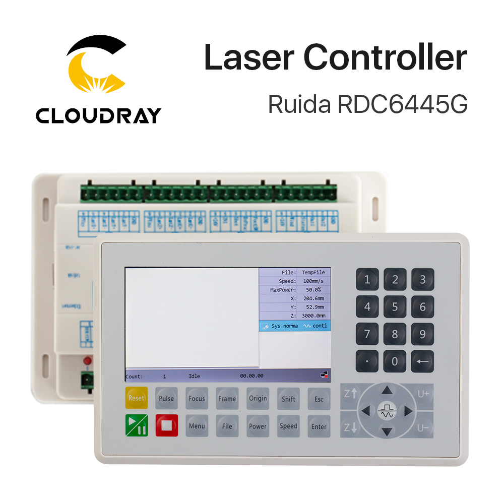 Ruida RDC6445 RDC6445G Controller for Co2 Laser Engraving Cutting Machine Upgrade RDC6442 RDC6442GRuida RDC6445 RDC6445G Controller for Co2 Laser Engraving Cutting Machine Upgrade RDC6442 RDC6442G