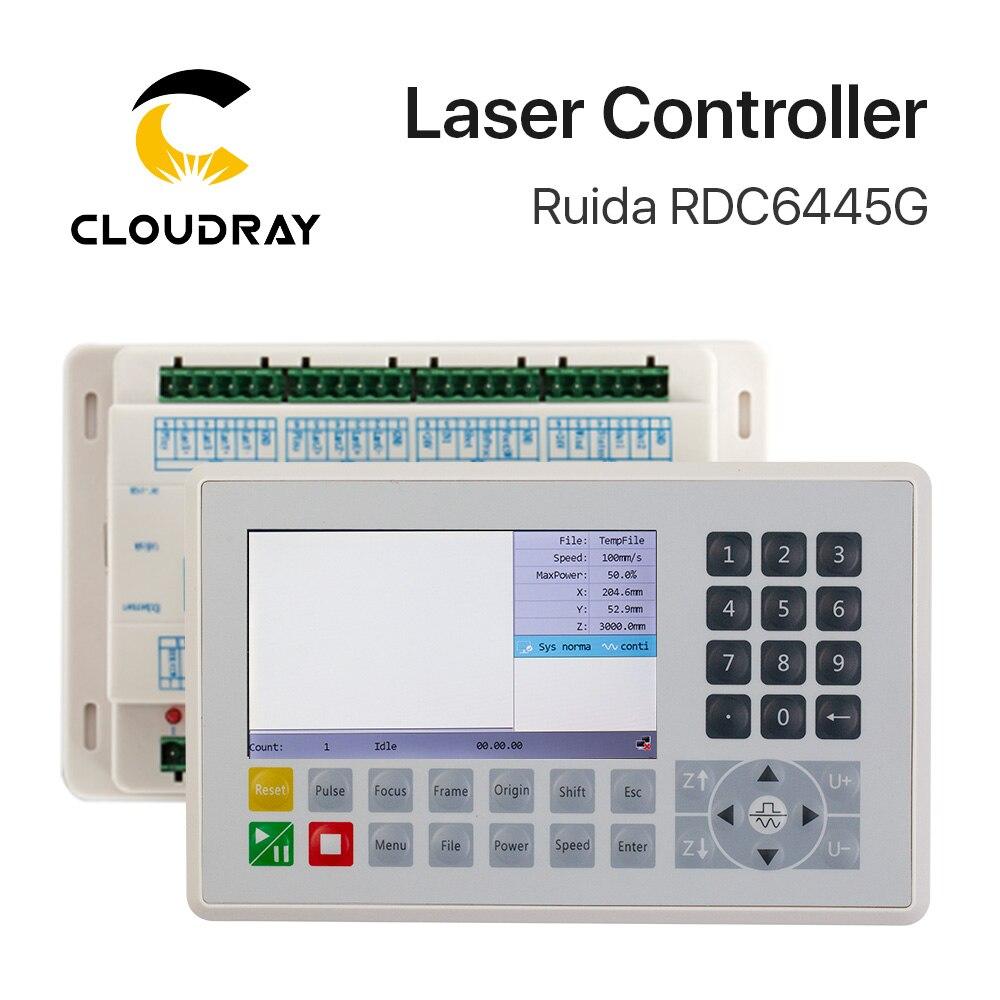 Ruida RDC6445 RDC6445G contrôleur pour Co2 Laser gravure Machine de découpe mise à niveau RDC6442 RDC6442G