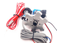 Funssor M4 Delta Kossel Mini 3D Printer Effector Ekstrusi Hotend Kit dengan Inductive Proximity Sensor Auto Leveling 1.75/3 MM