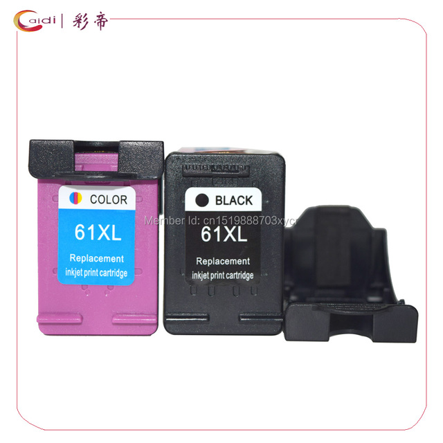 Ink Cartridge Replacement For HP 61XL 1 Black Tri Color Envy 4500