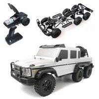 HG P601 1/10 2,4G 6WD Rc автомобиль Рок Гусеничный RTR 20 км/ч, Металлическое шасси RTR игрушка