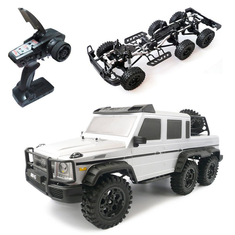 HG P601 1/10 2.4G 6WD Rc voiture roche chenille RTR 20 km/h châssis métallique RTR jouet