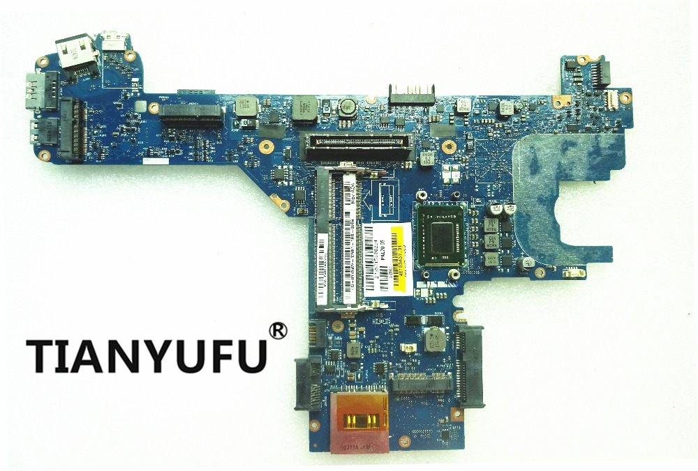 For Dell Latitude E6320 Laptop Motherboard With i7 2620M CPU PAL70 LA 6611P Y45W5 0Y45W5 CN