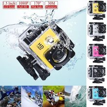 Waterproof DV SJ4000 HD 1080P Ultra Sports Action Camera DVR Helmet Cam Camcorder High-definition Digital Video Sport Camera(China)
