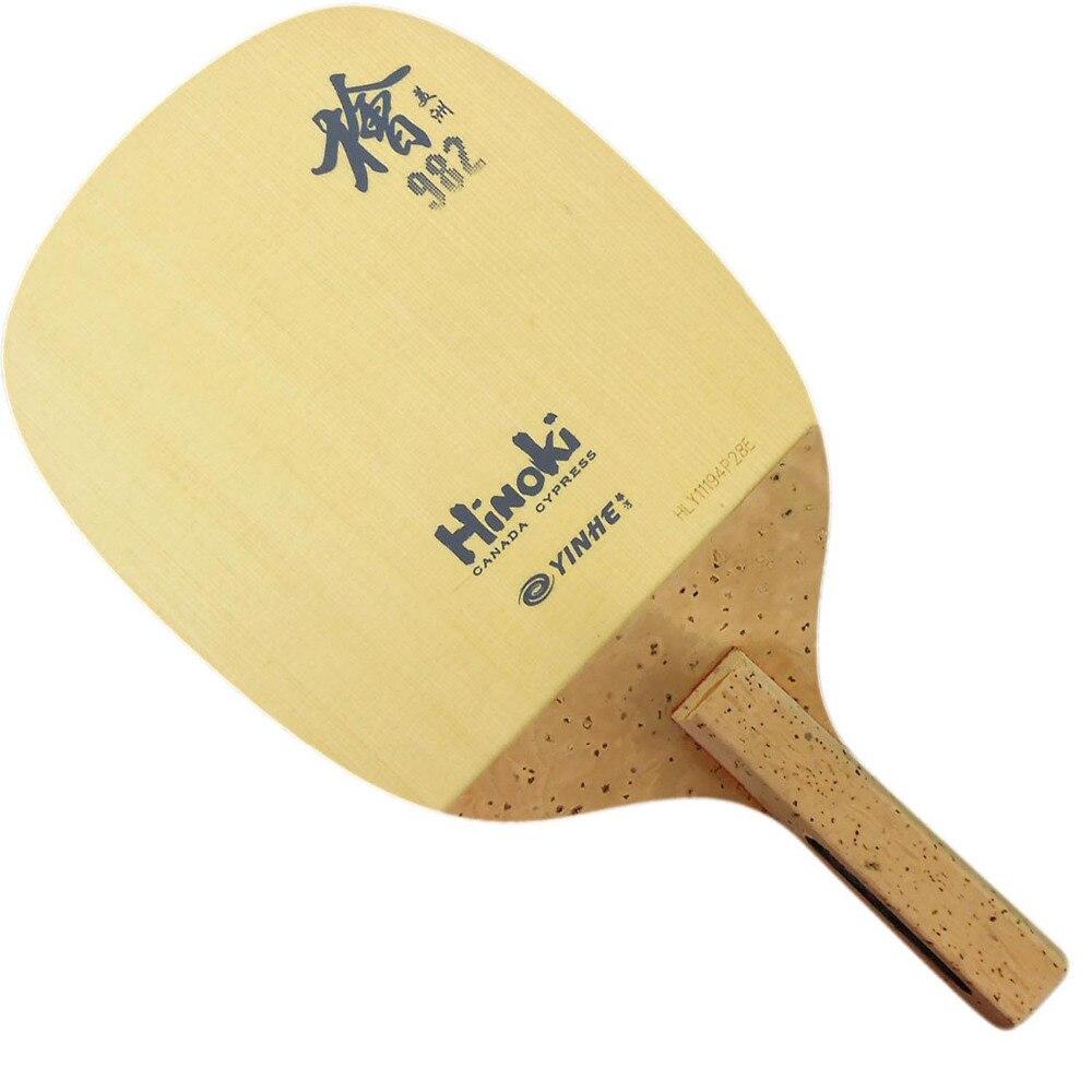 Original Yinhe Milky Way Galaxy 982 Hinoki Japanese penhold table tennis pingpong blade