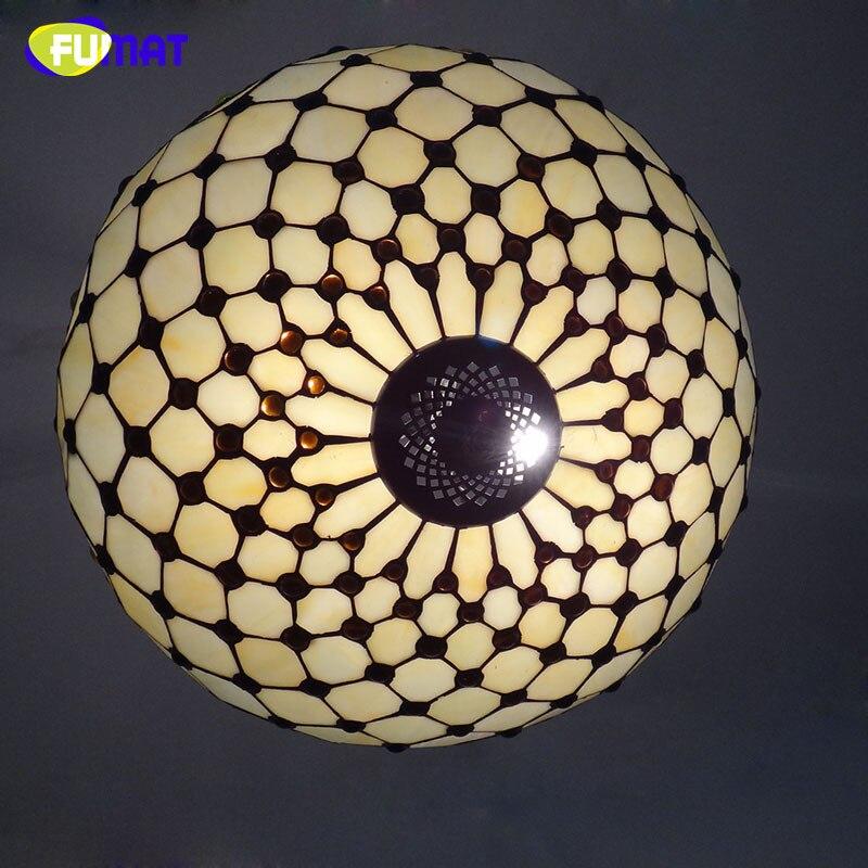 FUMAT Privjesak od stakla, umjetno vitražno svjetlo za dnevne sobe, - Unutarnja rasvjeta - Foto 3