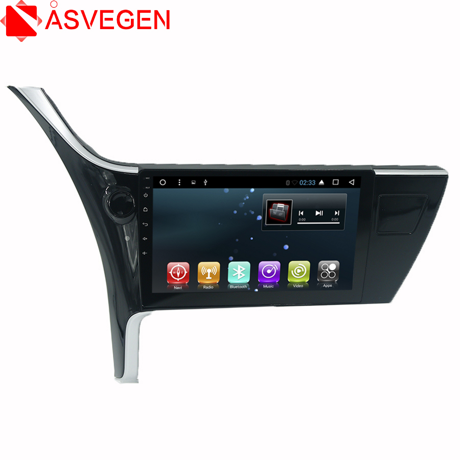 Avegen 10.1 2 Din Android 6.0 Quad Core Car Radio Multimedia Car Audio Player GPS Navigation System For Toyota Corolla 2017