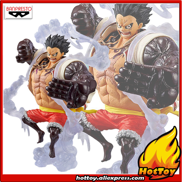 "100% Original Banpresto KING OF ARTIST Collection Figure - Gear Fourth Monkey.D.Luffy from ""ONE PIECE"""