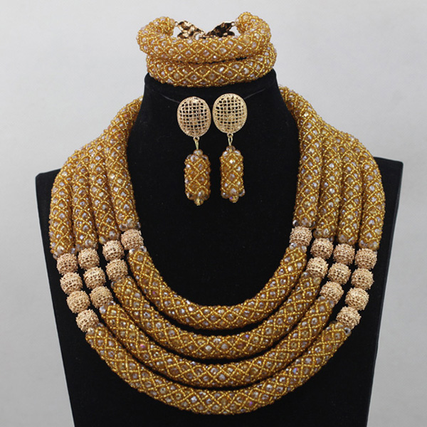 Exclusive African Beads Jewelry Set 2017 Nigerian Wedding Flower Clusters Statement Necklace Set Free Shipping QW1100Exclusive African Beads Jewelry Set 2017 Nigerian Wedding Flower Clusters Statement Necklace Set Free Shipping QW1100