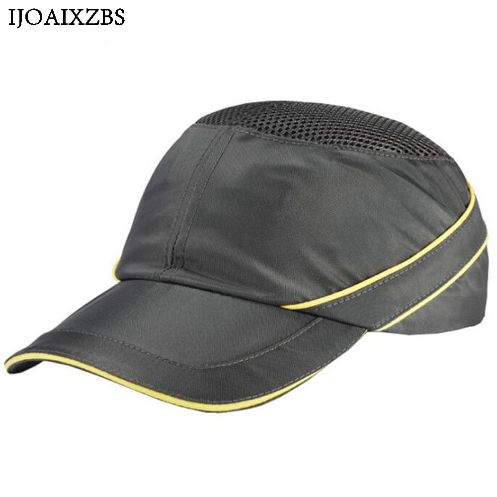 Bump Cap Work Safety Helmet Breathable Security Anti-impact Lightweight Helmets Fashion Casual Sunscreen Protective Hat bump cap work safety helmet with reflective stripe summer breathable security anti impact light weight helmets protective hat