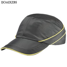 купить Bump Cap Work Safety Helmet Breathable Security Anti-impact Lightweight Helmets Fashion Casual Sunscreen Protective Hat дешево