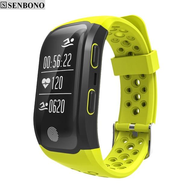 SENBONO S908 Bluetooth GPS Tracker Heart Rate Monitor