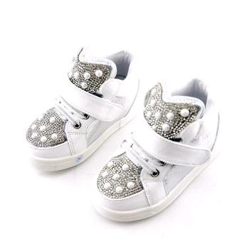 Koovan Children Sneakers 2019 New Fashion Boots Rhinestone For 1-3years Babys Children Boys Kids Girls Soft Bottom Causal Shoe 1