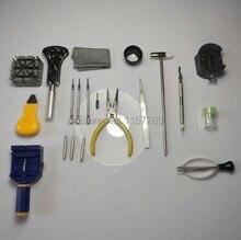 Бесплатная доставка 20 шт. Часы Ссылка Remover Ремонтный Комплект Kit Инструменты Zip Корпуса Батареи Открывалка Отвертка