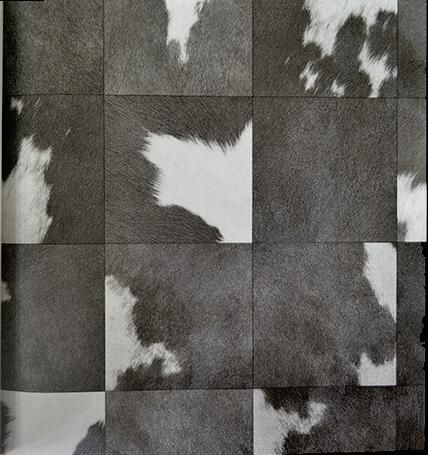 Black and White Gray Animal Fur Embossed Blackground Wall Paper Abstract Art