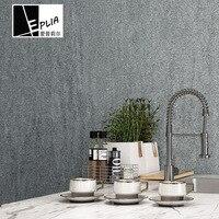 10Mx53cm Japanese Gray Non woven fabric Self adhesive Wallpaper Furniture Renovation Stickers Waterproof Kitchen room Decorative