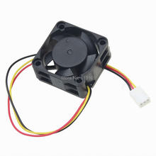 10 Pieces/lot Axial 40x40x20mm 4cm 4020 Brushless DC Cooling 2Pin 12V 40mm Fan цена 2017