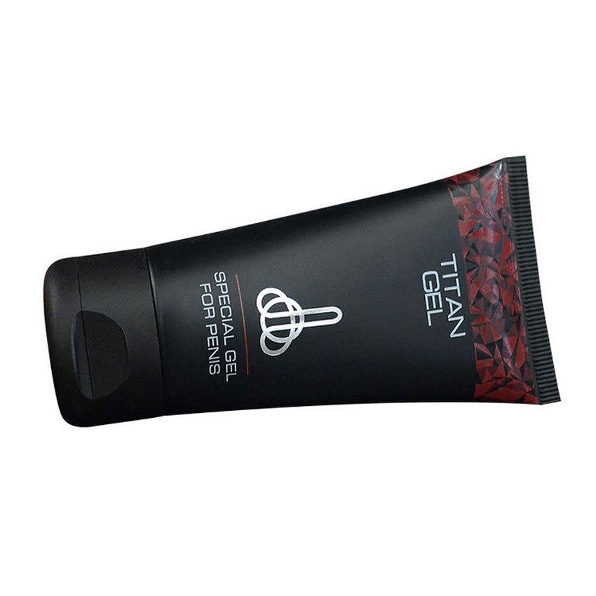 2 bottles russian titan gel herbal enlargement cream male extender