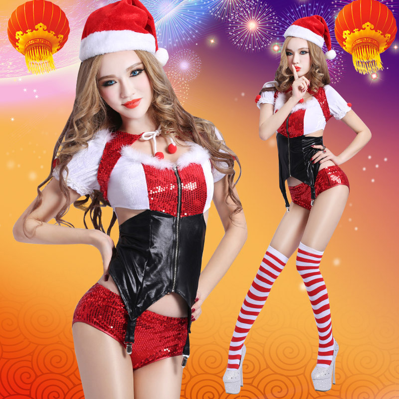 <font><b>Christmas</b></font> dance <font><b>costumes</b></font> dance scar reduction stage <font><b>outfit</b></font> <font><b>sexy</b></font> nightclub <font><b>costume</b></font> Jazz Dance Leotard <font><b>Costume</b></font> image