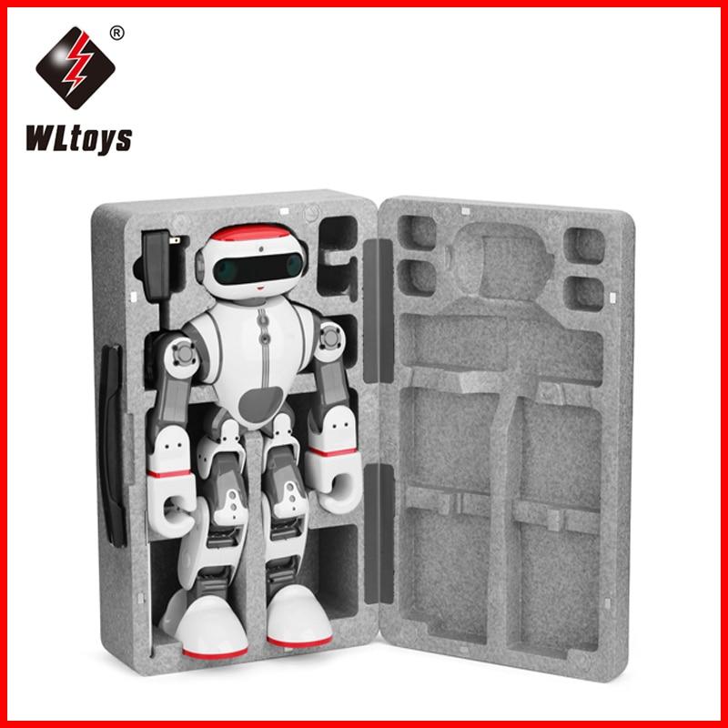 WLtoys F8 Dobi remote control robot toy phone control dancing story walking Intelligent robot toy smart
