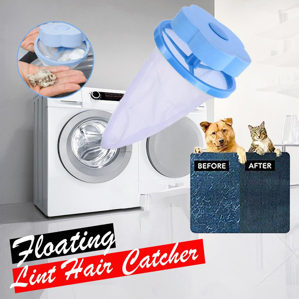FILTER-BAG Roller Cleaning-Tools Portable Pouch Hair-Catcher Pet-Dust-Clothes Mesh Laundry-Ball