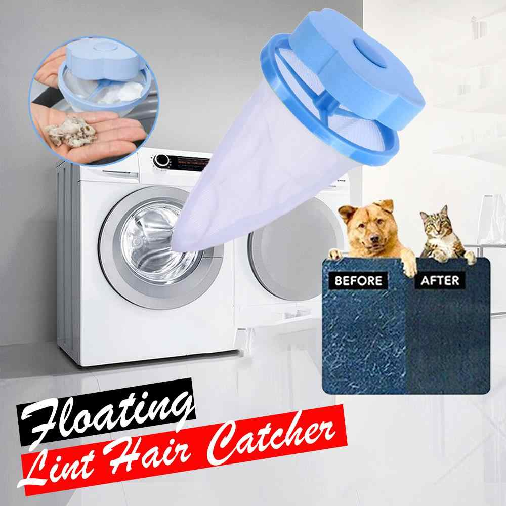 Laundry Ball Floating Style Removal Roller For Pet Dust Clothes Portable Pet Waste Cleaning Tools Fur Cleaning Mesh Filter Bag