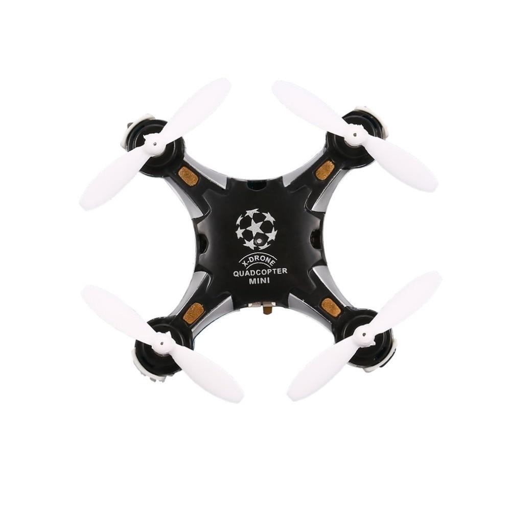 FQ777 124 RC Pocket Quadcopter 2.4G 4CH Six-axis Gyro Mini Drone 360 Degree Flip Headless Mode One Key Return  RTF With Light