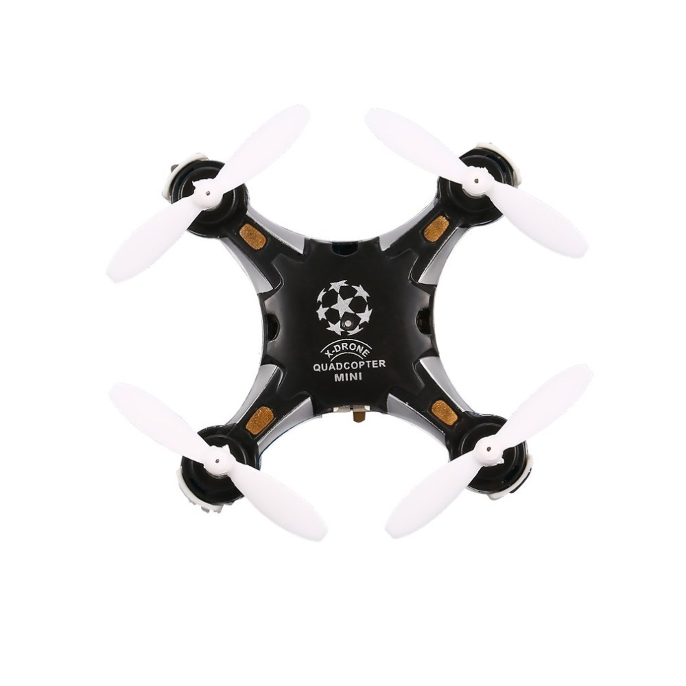FQ777 124 RC Pocket Quadcopter 2.4G 4CH Six-axis Gyro Mini Drone 360 Degree Flip Headless Mode One Key Return RTF with Light