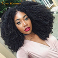 150% Density Full Lace Human Hair Wigs For Black Women with Baby Hair 7A Mongolian Afro Kinky Curly Lace Front Human Hair Wigs