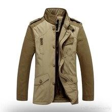Mens Korean Ultra Light Black Large Size Winter Warm Army Jacket Cheap Slim Cardigan Fleece Lines Military Coat Fashion Overcoat