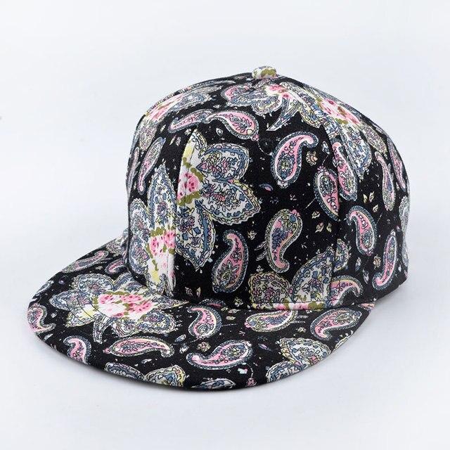 Newest Fashion Snapback Bandana Paisley Cashew Flat Hat Hip Hop Skateboard Baseball BBoy bone Adjustable gorras cap casquette