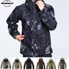 Military Tactical Uniform Waterproof Hunting Camping Climbing Hiking Sports Jacket & Pants Men Combat Training Suits