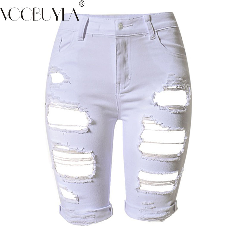 Popular Shorts White Ripped-Buy Cheap Shorts White Ripped lots ...