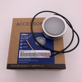 ahua  HSA200  Audio Pickup DH-HSA200 Hi-fidelity Audio Picker Microphone For DH Hik Audio And Alarm Camera HSA200 CCTV Microphone