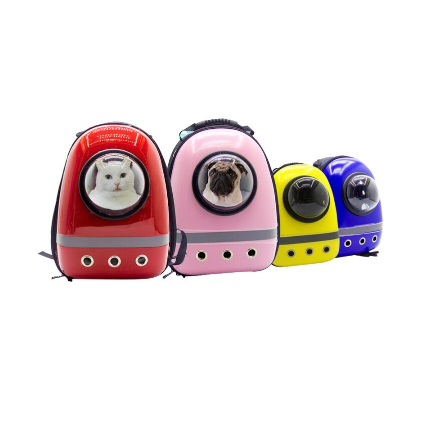 Luxury Pet Space Bag Astronaut Space Capsule Cat And Dog Out Backpack Backpack #6