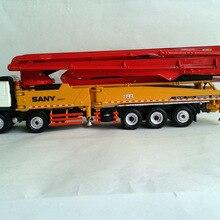 1:50 SANY HB62V грузовик-установленный бетонный цементный насос игрушка