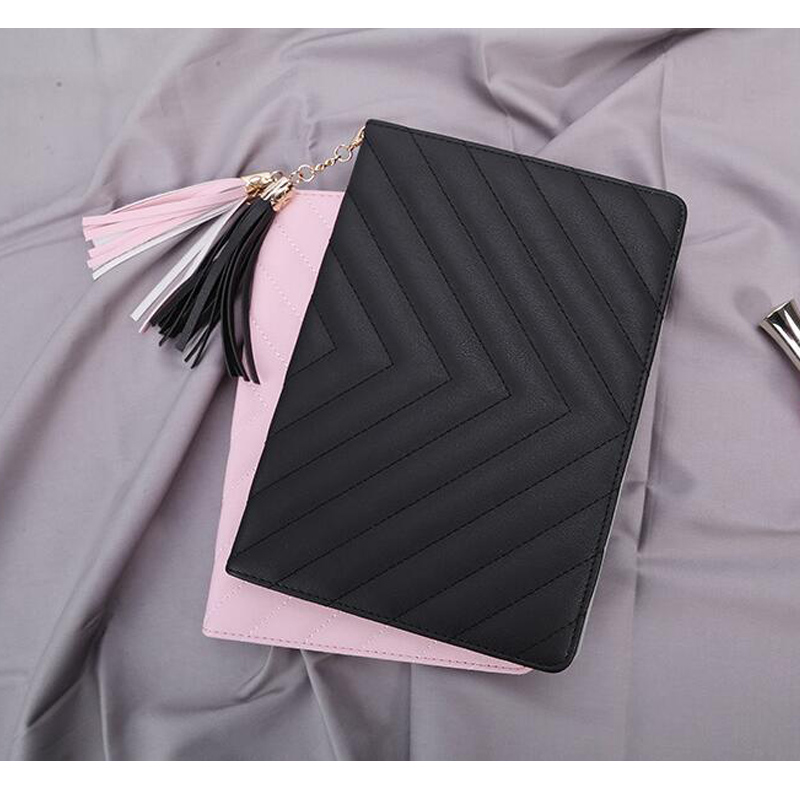 for iPad 9.7 2017 Case 5th Gen Smart PU Leather Sleeve for iPad 9.7 inch 2017 2018 Case 6th Cute Tassel Flip PC Cover turtle kazoo kids case for ipod touch 5th gen