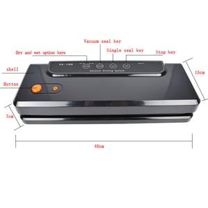 Image 3 - ATWFS רב פונקצית ואקום מכונה איטום בית הטוב ביותר אוטם ואקום טרי מכונת אריזת מזון שומר ואקום פקר שקיות 150W
